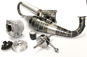 KC022  KIT 125cc  CARTER CNC  TCR Minarelli